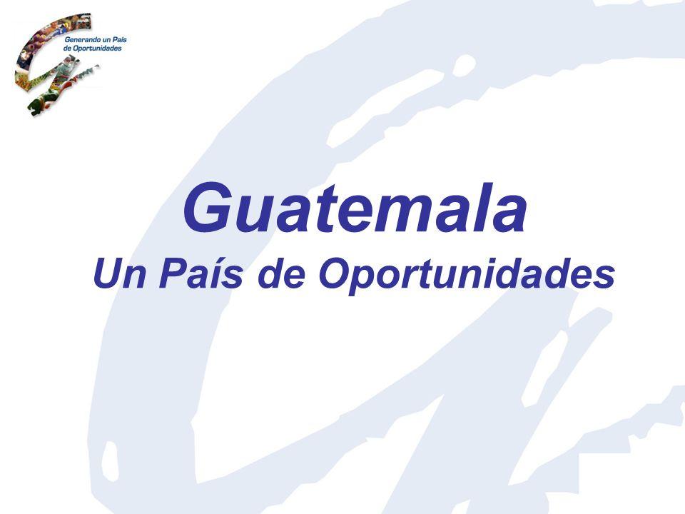 Guatemala Un País de Oportunidades