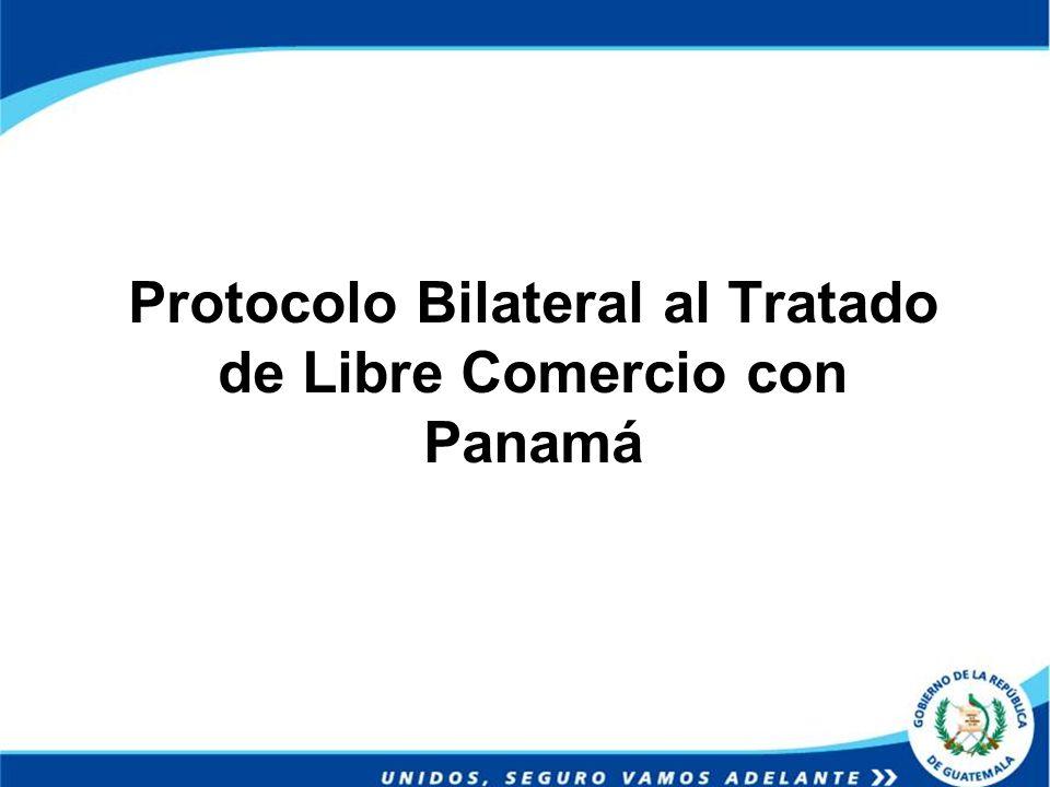 Protocolo Bilateral al Tratado de Libre Comercio con Panamá