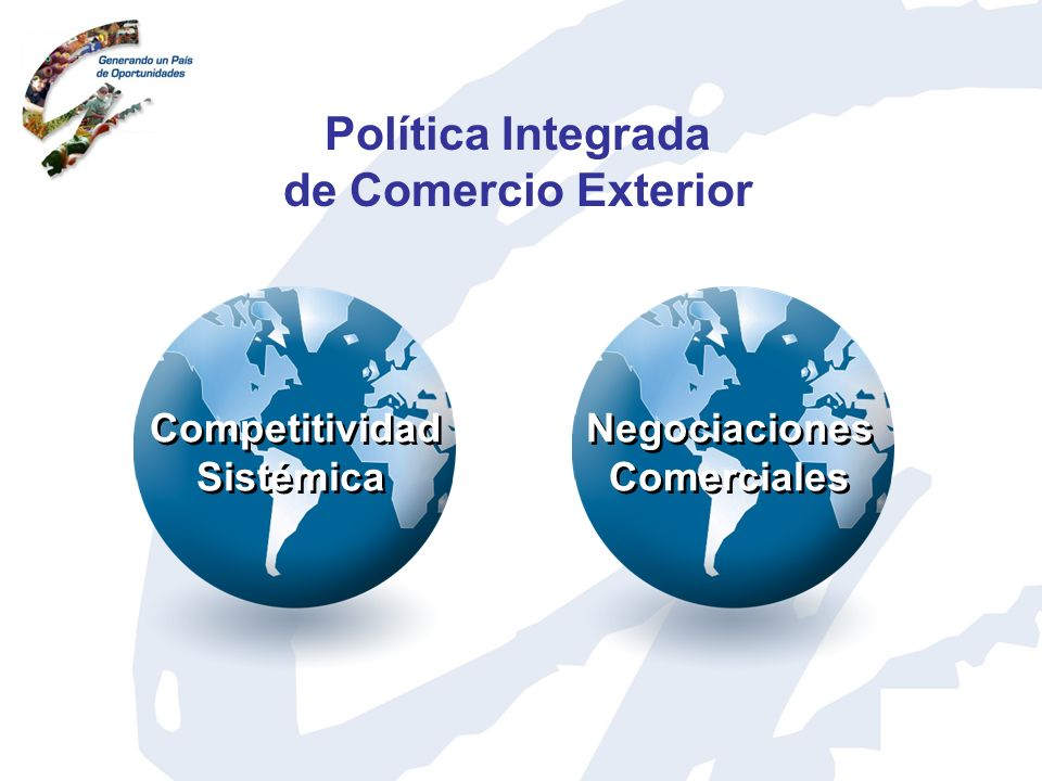 Competitividad Sistémica Agenda Nacional 2005 - 2015