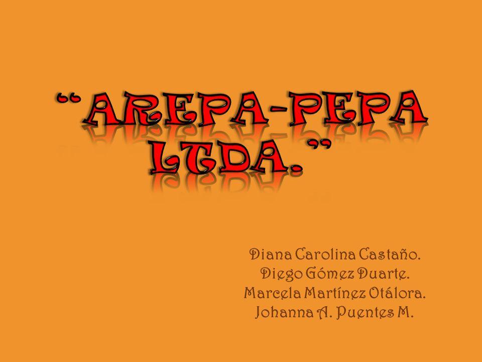 Diana Carolina Castaño. Diego Gómez Duarte. Marcela Martínez Otálora. Johanna A. Puentes M.