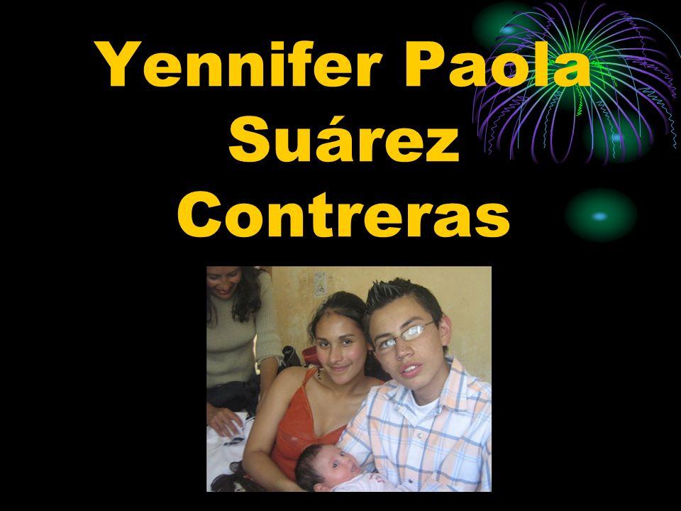 Yennifer Paola Suárez Contreras