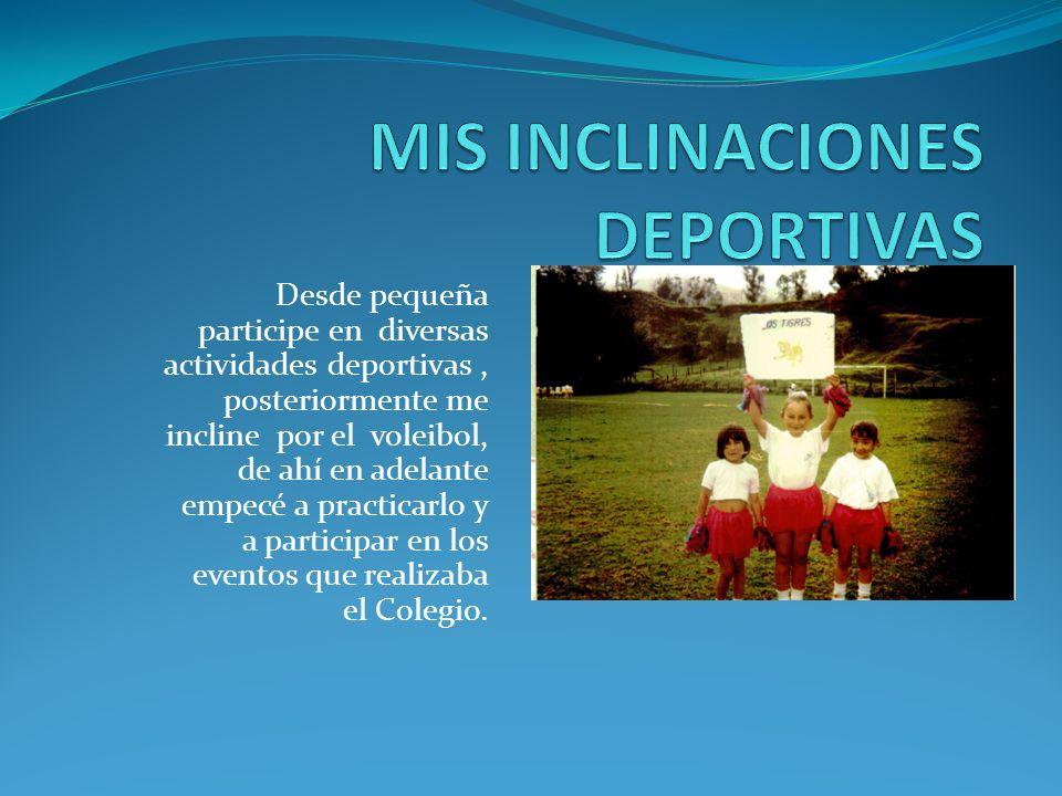 Realice mi primaria en el Colegio Cooperativo Paulo VI, La Calera. Allí hice bastantes amigos.
