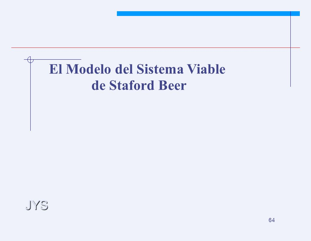 JYS 64 El Modelo del Sistema Viable de Staford Beer