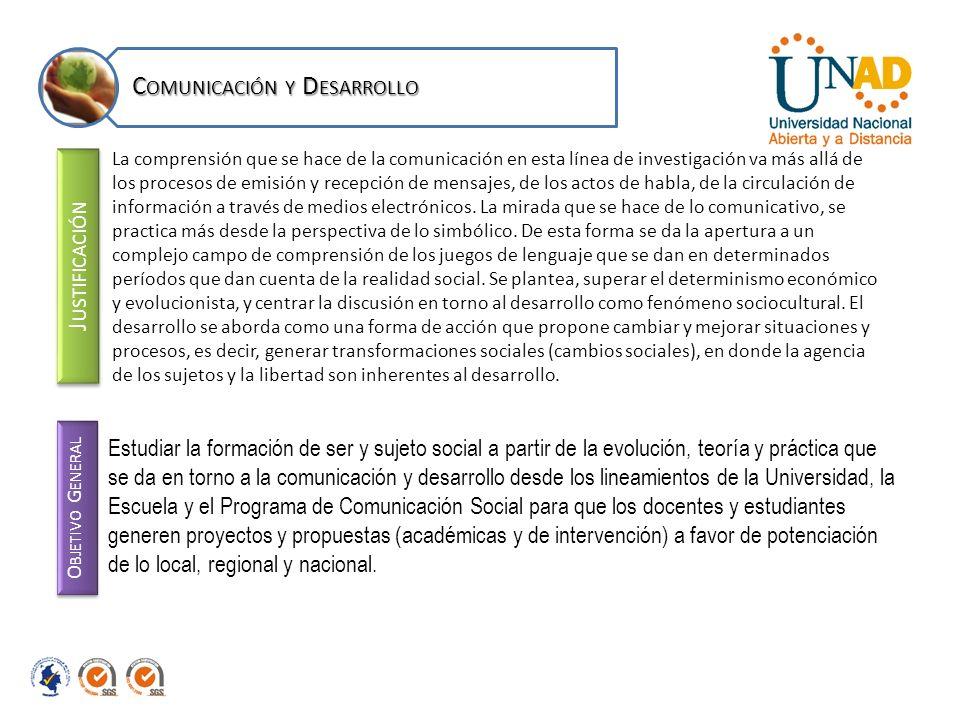J USTIFICACIÓN Parte de la reflexión sobre el papel que juega la comunicación, en los diversos procesos de formación académica, dentro de Ambientes Virtuales de Aprendizaje (AVA).