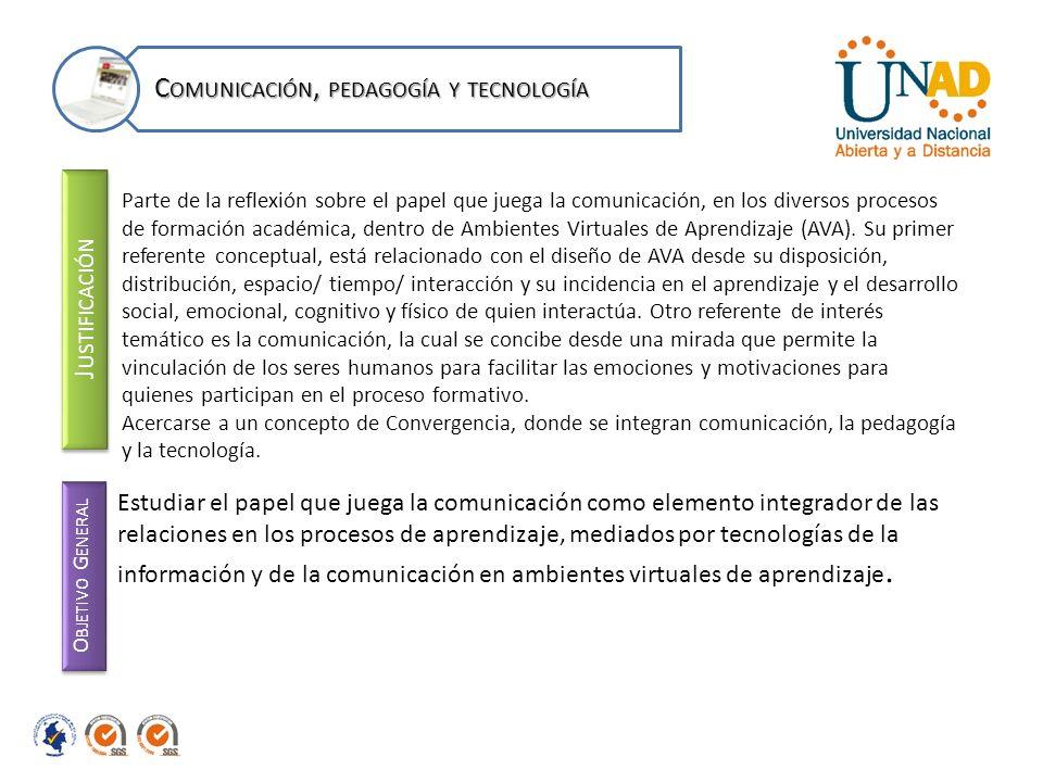 J USTIFICACIÓN Parte de la reflexión sobre el papel que juega la comunicación, en los diversos procesos de formación académica, dentro de Ambientes Vi