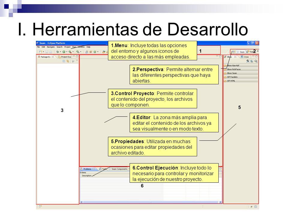 I. Herramientas de Desarrollo Gestionar Proyectos.