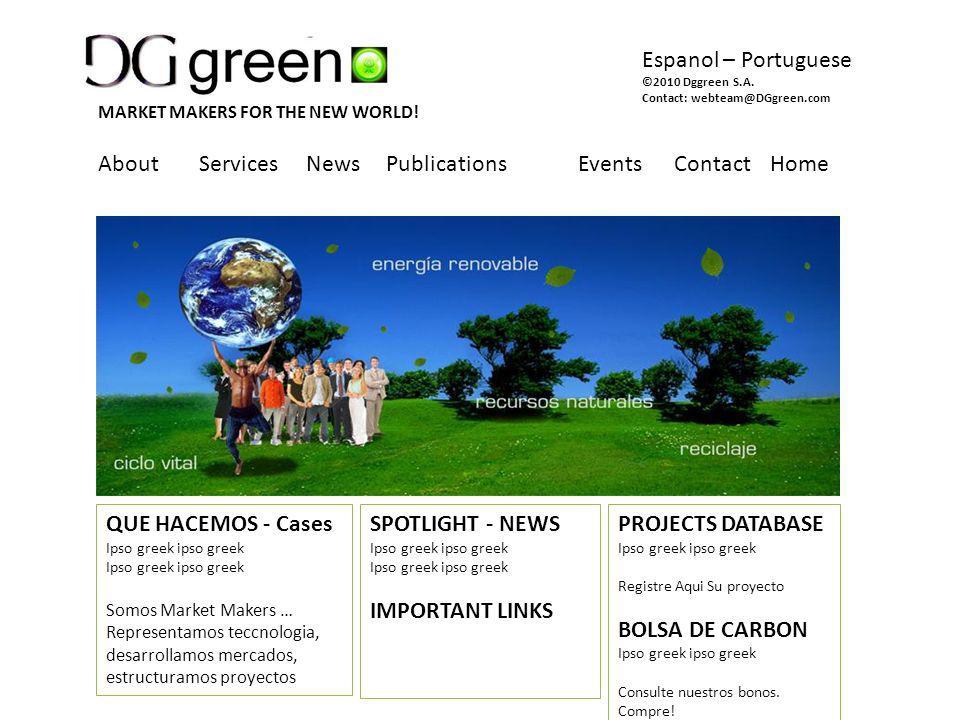 About Services News Publications EventsContactHome SPOTLIGHT - NEWS Ipso greek ipso greek IMPORTANT LINKS PROJECTS DATABASE Ipso greek ipso greek Registre Aqui Su proyecto BOLSA DE CARBON Ipso greek ipso greek Consulte nuestros bonos.