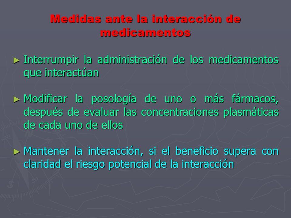 Interacción de medicamentos con Corticoesterioides