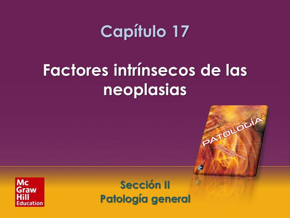 McGraw-Hill Education LLC Todos los derechos reservados. Capítulo 17. Factores intrínsecos de las neoplasias Sección II. Patología general Sección II