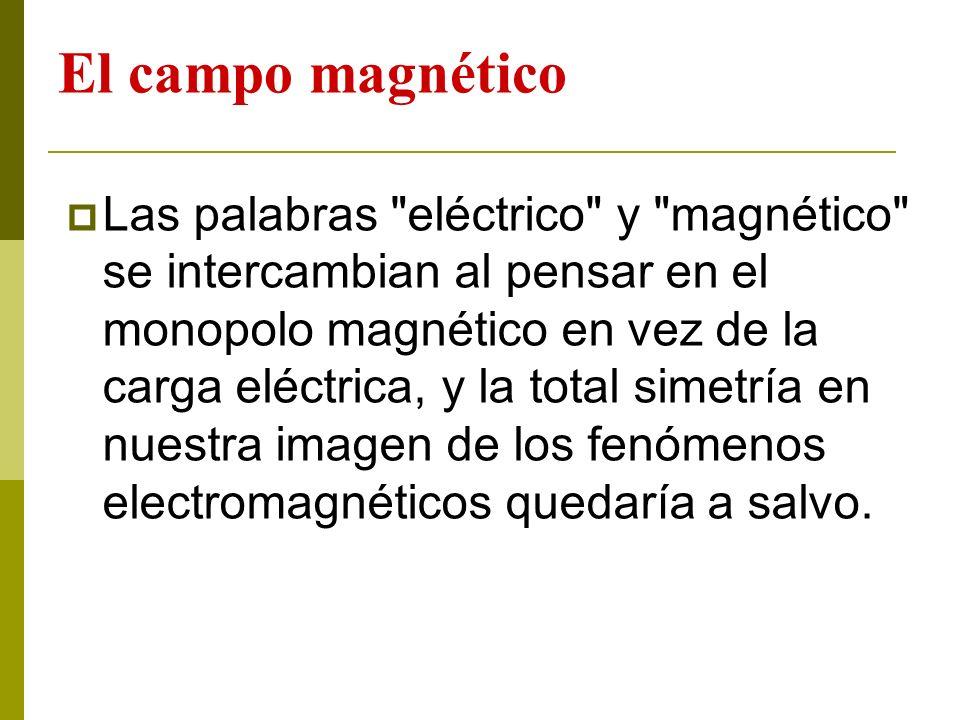 El campo magnético Las palabras