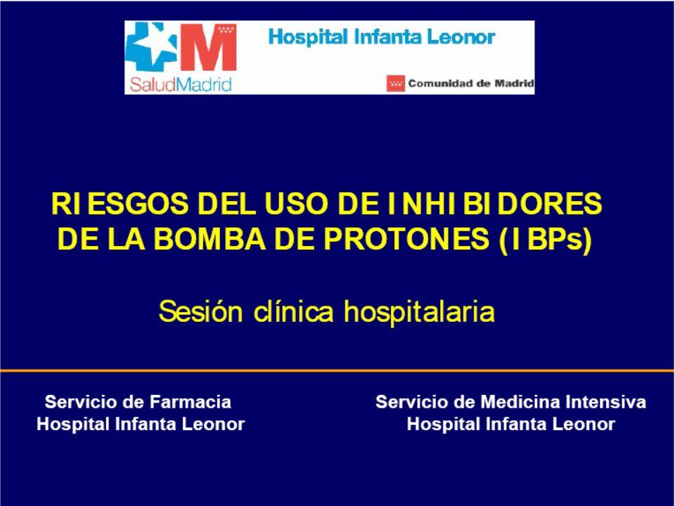 Indicaciones profilácticas de los IBPsIndicaciones profilácticas de los IBPs ¿Hay evidencia de sobreutilización de IBPs?¿Hay evidencia de sobreutilización de IBPs.