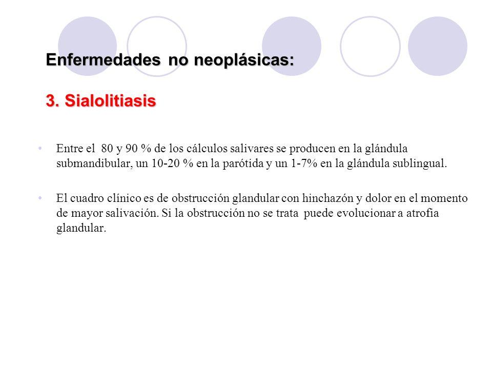 Enfermedades no neoplásicas: 3.