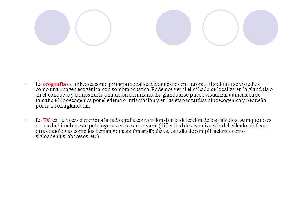 ecografíaLa ecografía es utilizada como primera modalidad diagnóstica en Europa.