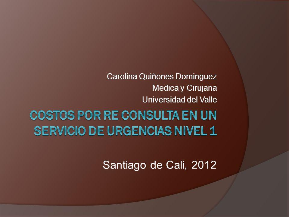 Carolina Quiñones Dominguez Medica y Cirujana Universidad del Valle Santiago de Cali, 2012