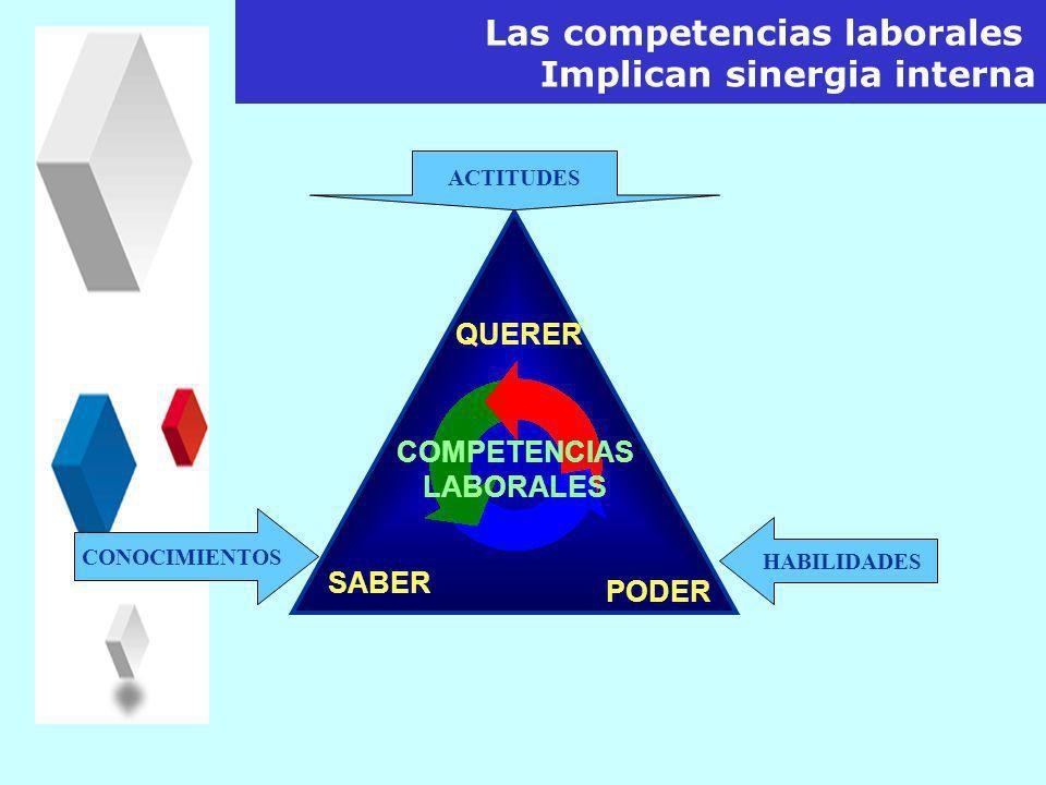 Saber actuar y reaccionar en forma responsable y validada en un contexto profesional particular, es decir: Concepto de Competencia Saber Movilizar Int
