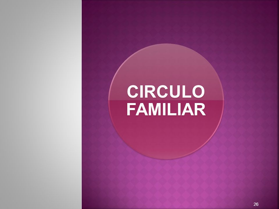 CIRCULO FAMILIAR 26
