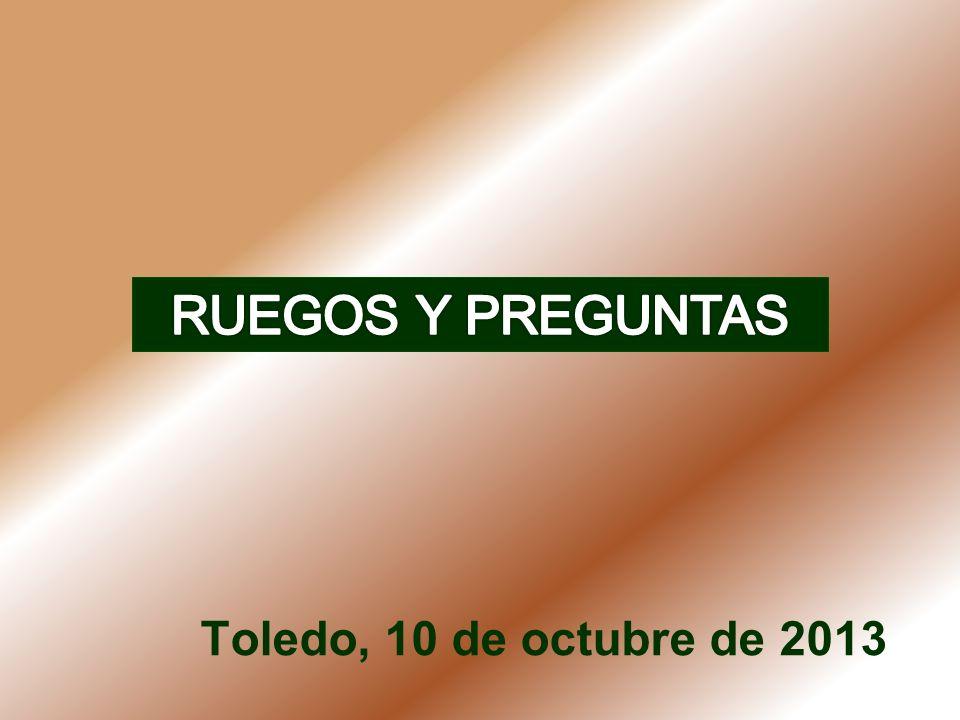 Toledo, 10 de octubre de 2013