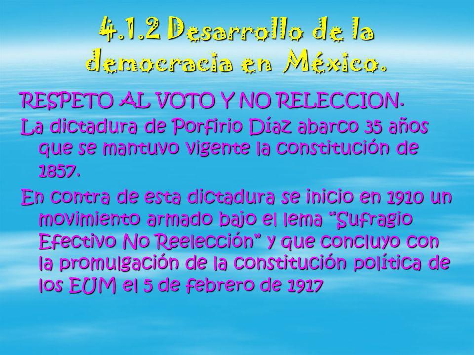 Retos de la democracia en México Los valores de la democracia son fundamentales para vivir en sociedad.