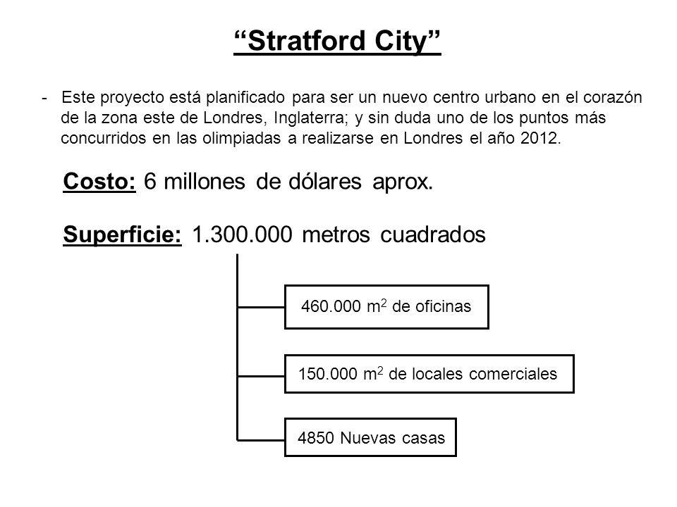 Stratford City - Este proyecto está planificado para ser un nuevo centro urbano en el corazón de la zona este de Londres, Inglaterra; y sin duda uno d