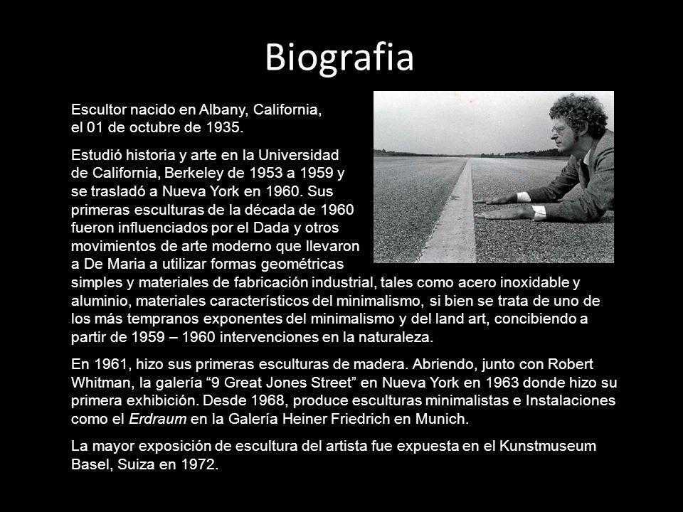 Escultor nacido en Albany, California, el 01 de octubre de 1935. Estudió historia y arte en la Universidad de California, Berkeley de 1953 a 1959 y se
