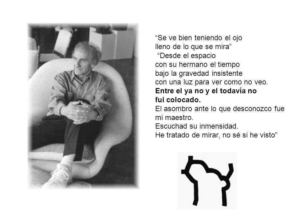 Eduardo Chillida Juantegui (San sebastian, 10 de enero de 1924- 19 de agosto de 2002) Escultor y grabador español nacido en San Sebastian Junto a Jorge Oteiza, es el escultor vasco mas destacado del siglo XX, continuador de la tradición de Julio González y Pablo Picasso.