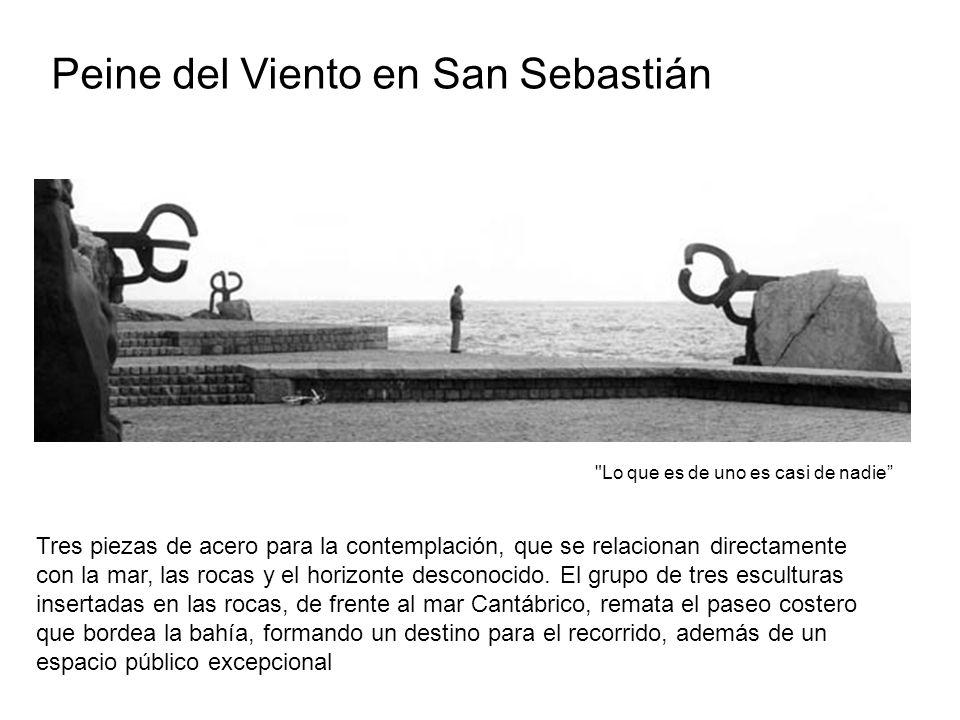 Peine del Viento en San Sebastián