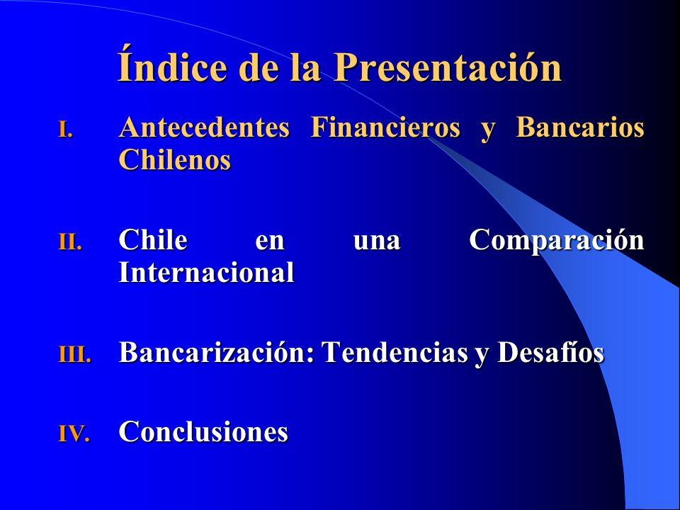 Conjunto de reformas bancarias y financieras desde 1990.