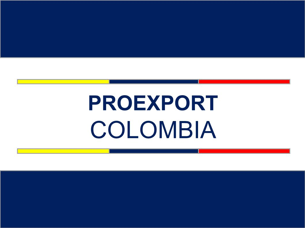 ¿Qué es Proexport.