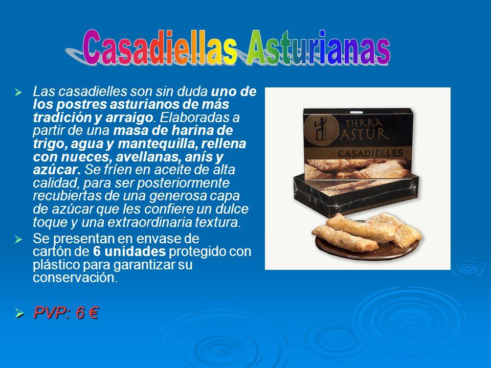 Las casadielles son sin duda uno de los postres asturianos de más tradición y arraigo. Elaboradas a partir de una masa de harina de trigo, agua y mant