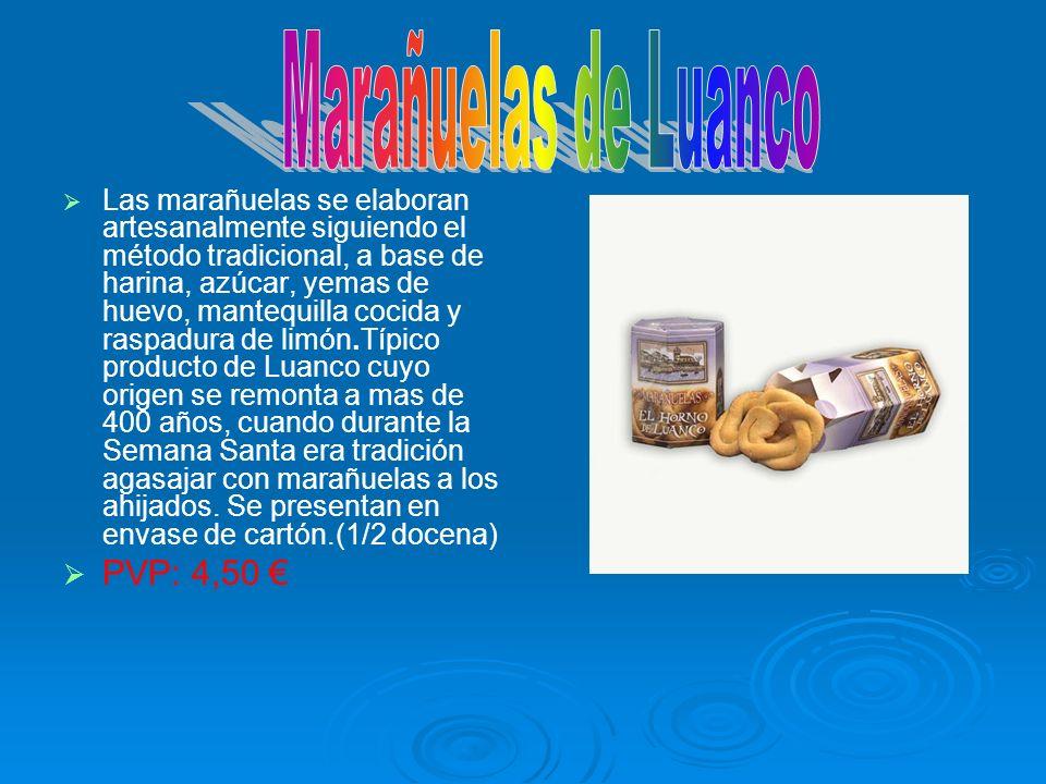 Las marañuelas se elaboran artesanalmente siguiendo el método tradicional, a base de harina, azúcar, yemas de huevo, mantequilla cocida y raspadura de