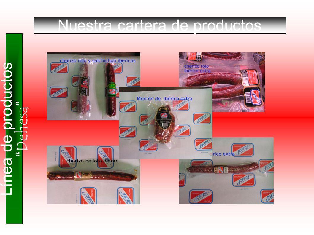 Nuestra cartera de productos Línea de productos Dehesa