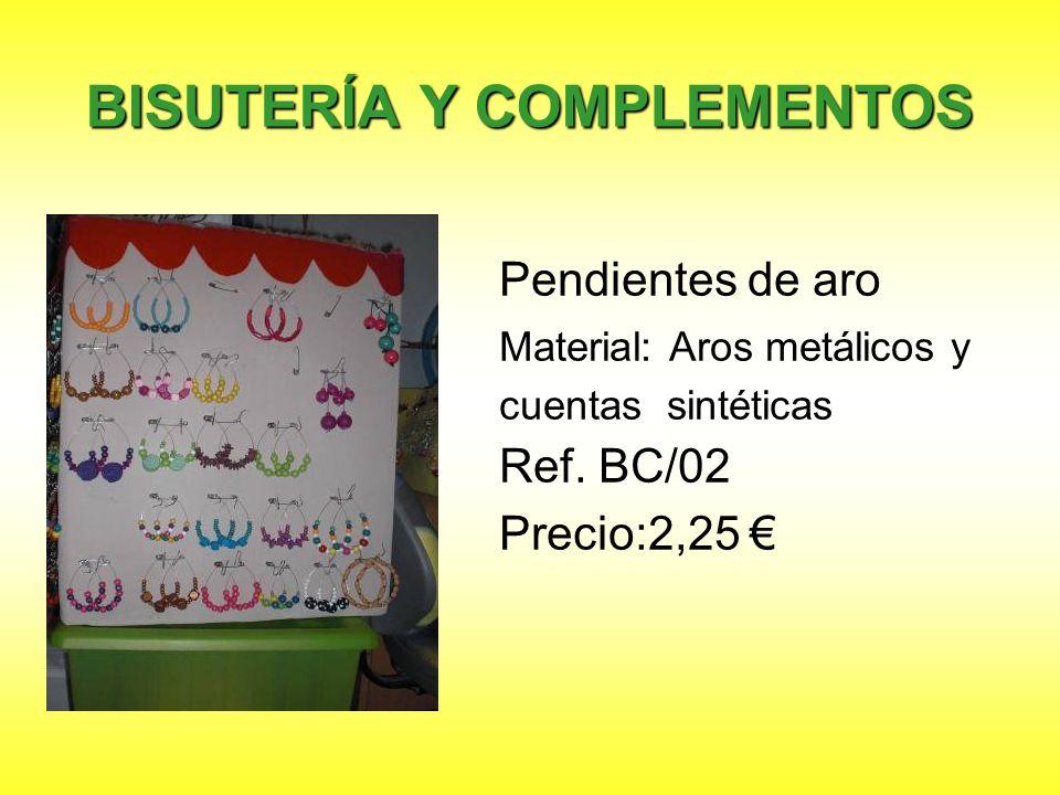 Horquillas decoradas Material: Horquillas y fieltro. Ref. BC/03 Precio: 1,75
