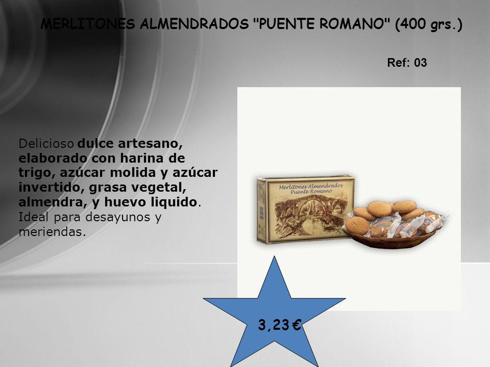 MERLITONES ALMENDRADOS