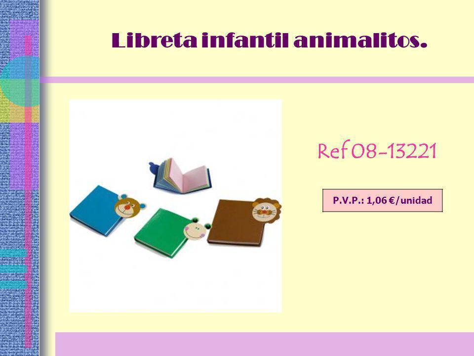 Ref 02-7114 Libreta tapas en pvc. P.V.P.: 2,48 /unidad