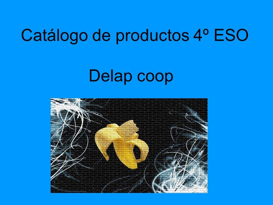 Catálogo de productos 4º ESO Delap coop