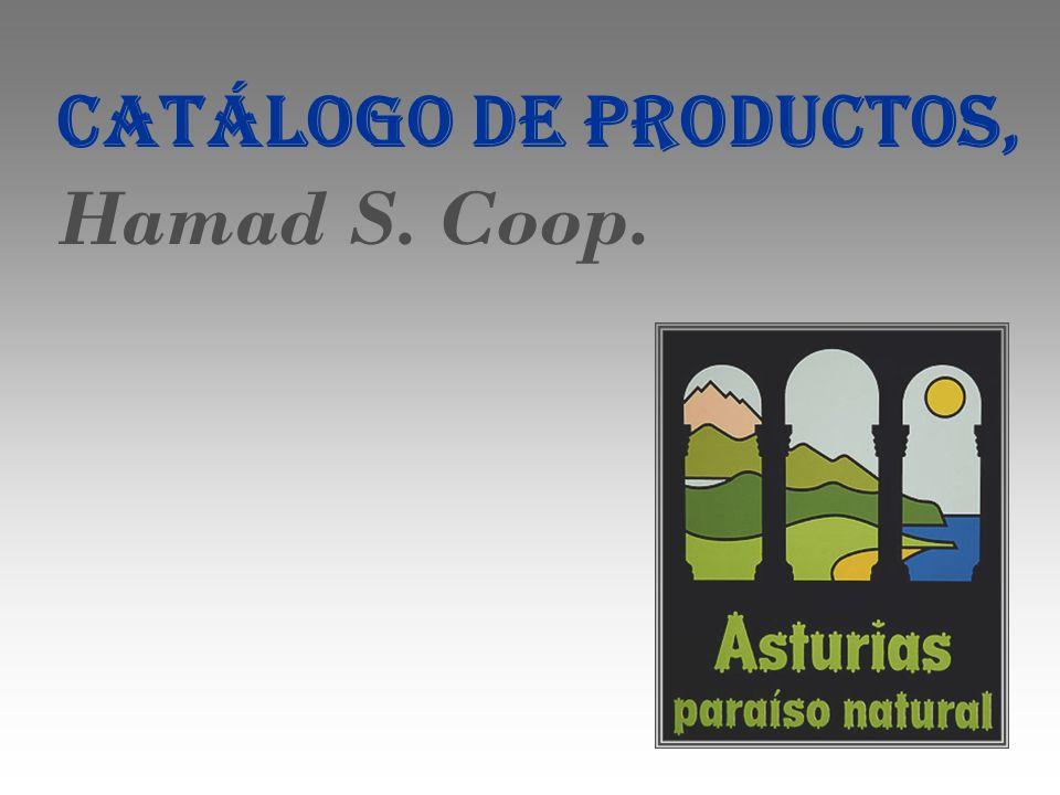 CATÁLOGO DE PRODUCTOS, Hamad S. Coop.
