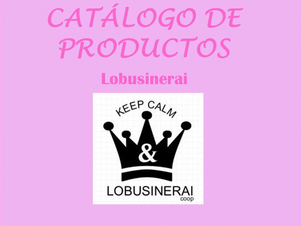 CATÁLOGO DE PRODUCTOS Lobusinerai
