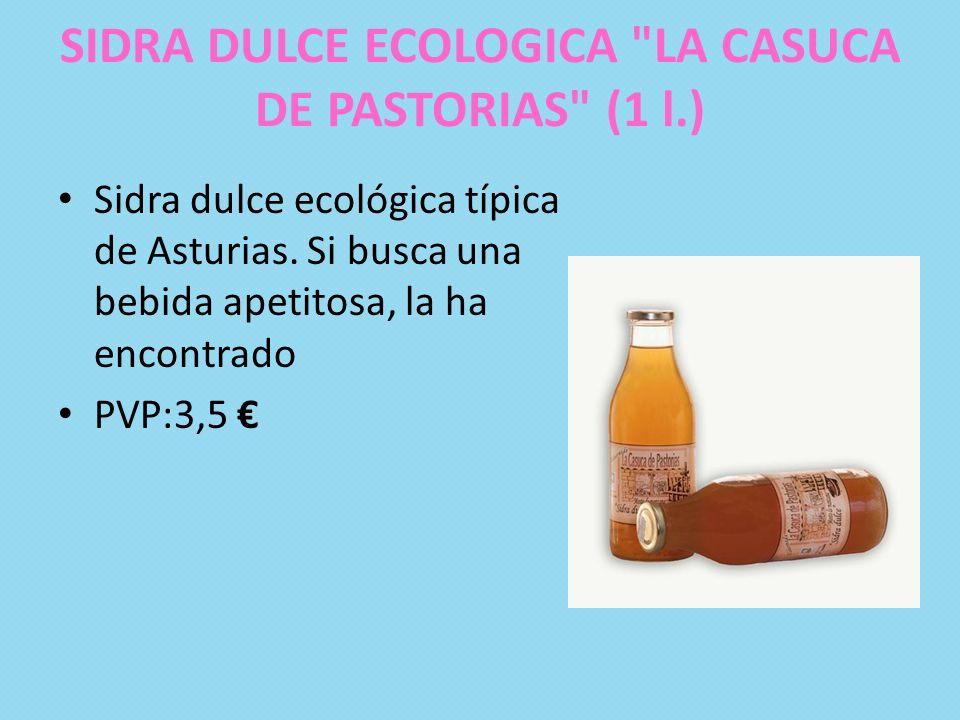 SIDRA DULCE ECOLOGICA