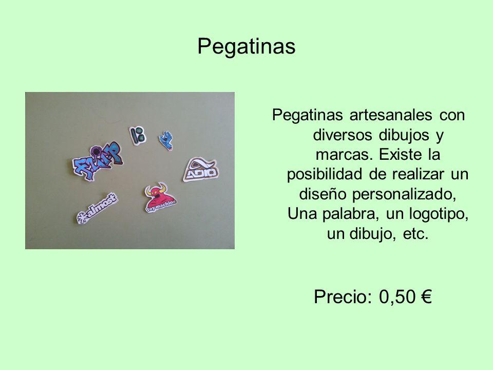 Pegatinas Pegatinas artesanales con diversos dibujos y marcas. Existe la posibilidad de realizar un diseño personalizado, Una palabra, un logotipo, un