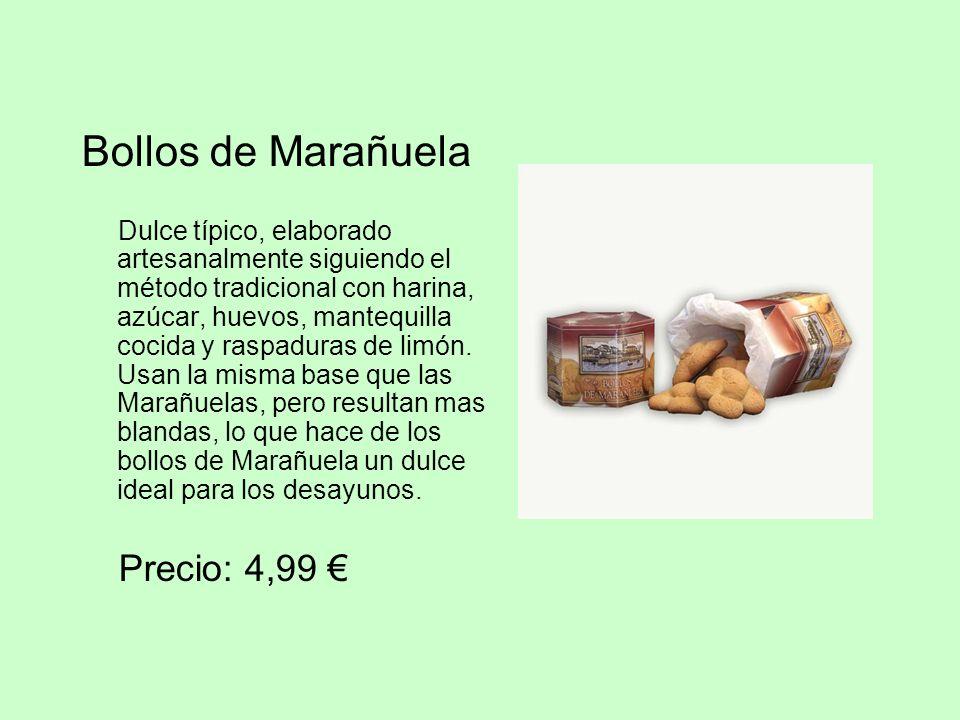 Bollos de Marañuela Dulce típico, elaborado artesanalmente siguiendo el método tradicional con harina, azúcar, huevos, mantequilla cocida y raspaduras