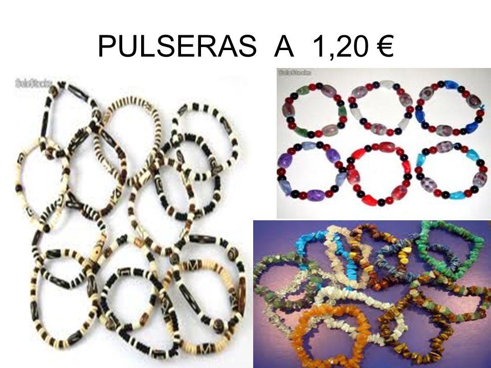 PULSERAS A 1,20