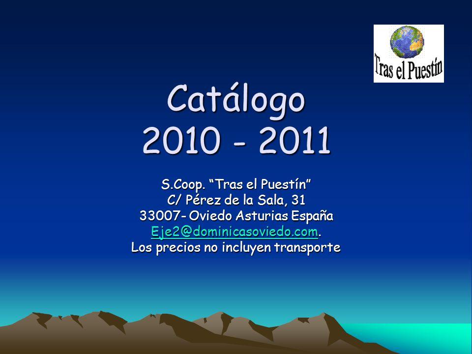 Catálogo 2010 - 2011 S.Coop.