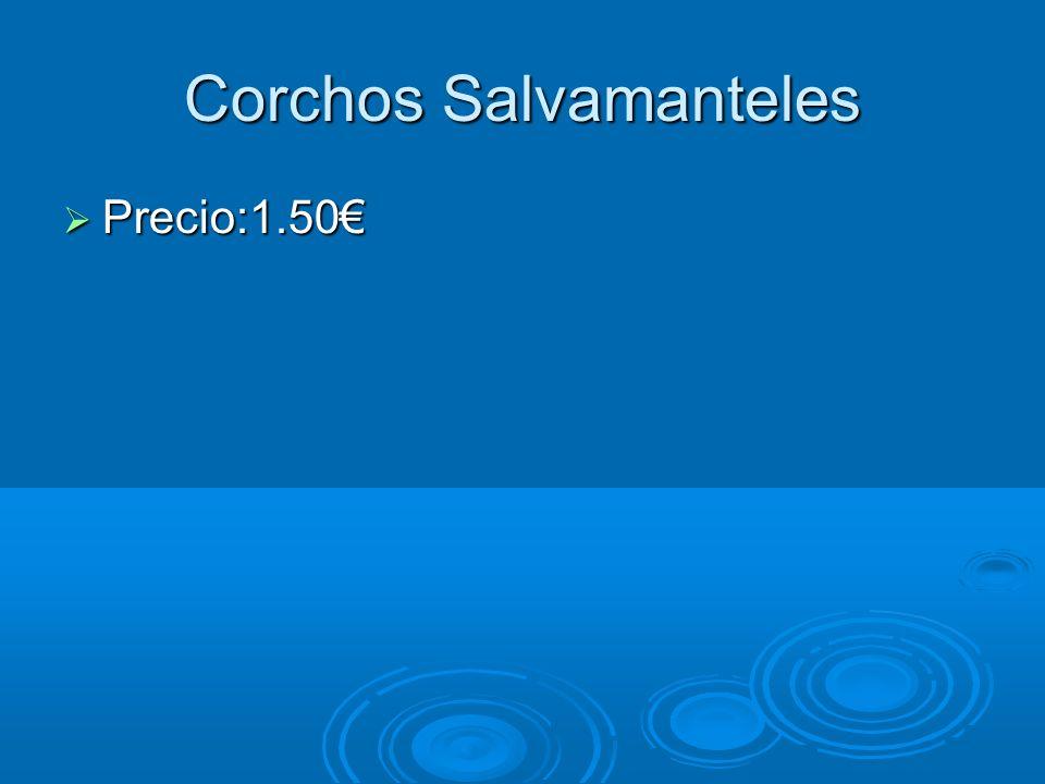 Corchos Salvamanteles Precio:1.50 Precio:1.50