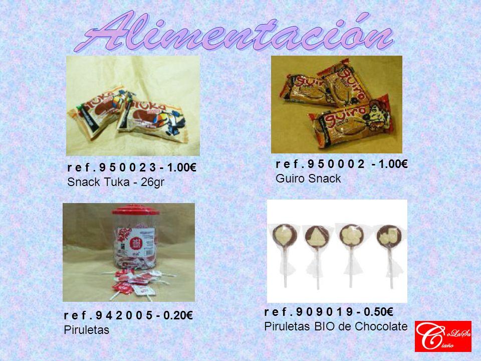 r e f. 9 5 0 0 2 3 - 1.00 Snack Tuka - 26gr r e f.