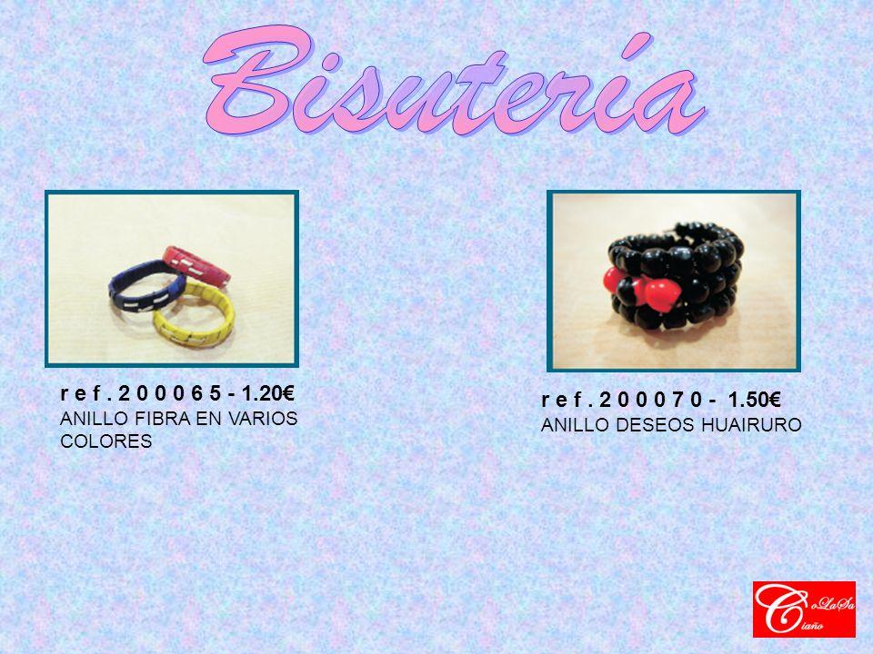 r e f. 2 0 0 0 6 5 - 1.20 ANILLO FIBRA EN VARIOS COLORES r e f.