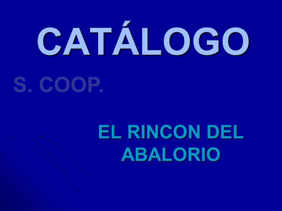 CATÁLOGO EL RINCON DEL ABALORIO S. COOP.