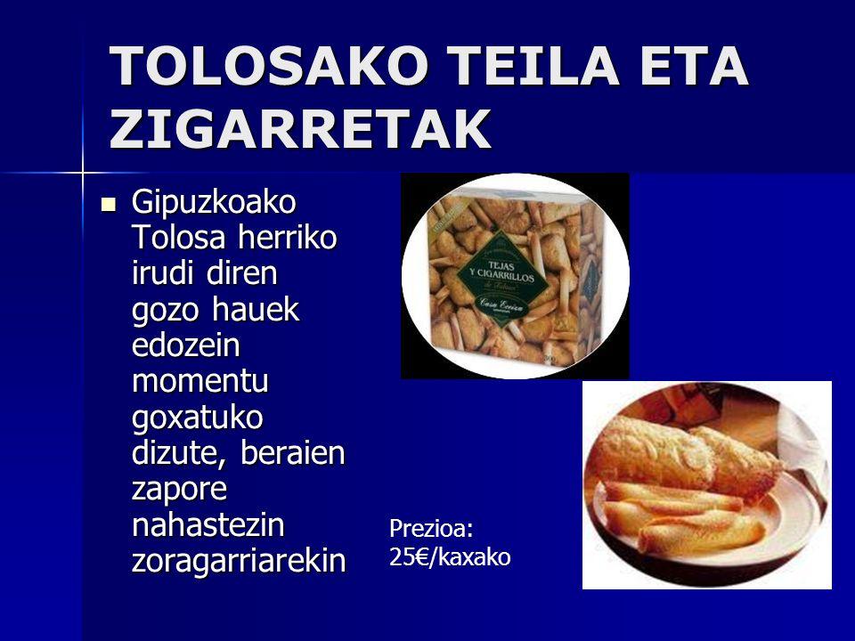 Inacios Estos pastelitos que solo se pueden encontrar en la pastelería Egaña de Azpeitia (Guipúzcoa), aparte de tener un aspecto buenísimo, tambíen saben increíbles.
