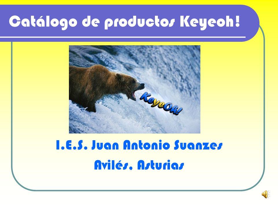 Catálogo de productos Keyeoh! I.E.S. Juan Antonio Suanzes Avilés, Asturias