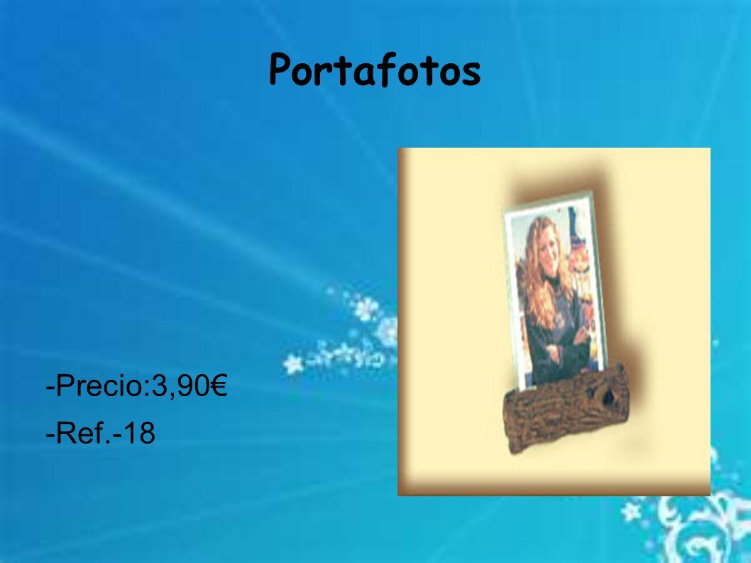 Portafotos -Precio:3,90 -Ref.-18