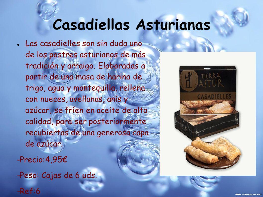 Casadiellas Asturianas Las casadielles son sin duda uno de los postres asturianos de más tradición y arraigo. Elaboradas a partir de una masa de harin